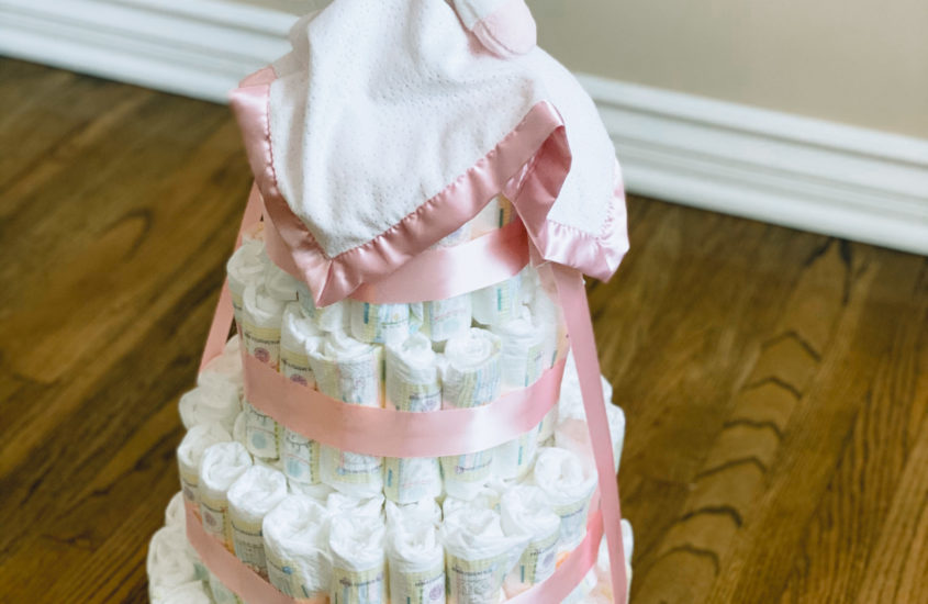 How To: Diaper Cake